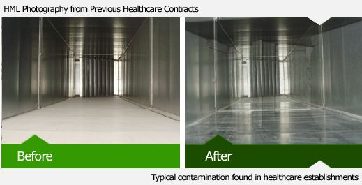 Hospital Ductwork Cleaning